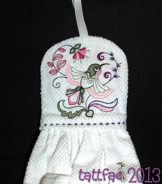 Towel Topper I Made Machine Embroidery Pinterest