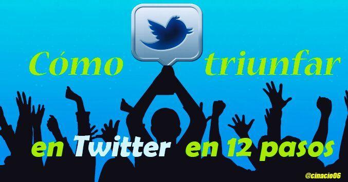 Guía de como triunfar en Twitter España. Qué es Twitter, cómo conseguir followers, cómo funciona Twitter o cómo usar Twitter. consejos para twitter