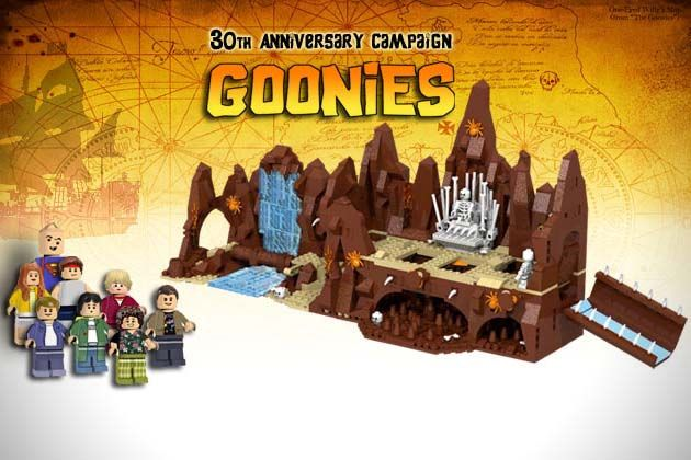 The Goonies 30th Anniversary LEGO Set. COOLEST THING EVER!!!!!!!!!!!!!!!!!!