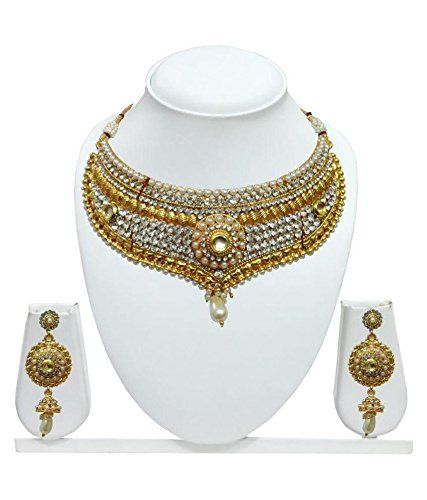 Dazzling Indian Bollywood Style Gold Plated White Pearls ... https://www.amazon.ca/dp/B01MTQQ1T9/ref=cm_sw_r_pi_dp_x_SPWJybV9ZMEG8