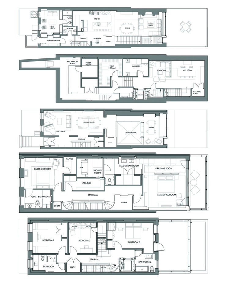17 Best Images About Townhouse Floor Plans On Pinterest