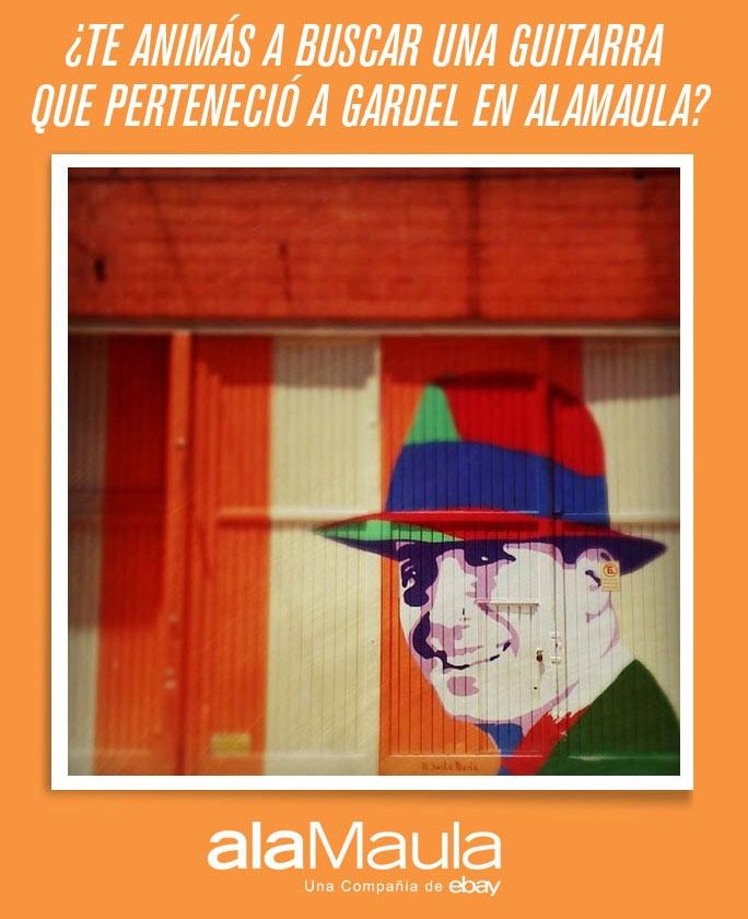 Busca la Guitarra de Gardel > Algunas pistas en www.alamau.la/arcarlosgardel