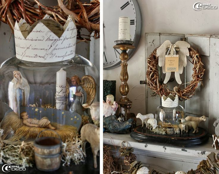 31 best christmas in provence images on pinterest provence provence france and merry - Decor creche de noel provencal ...