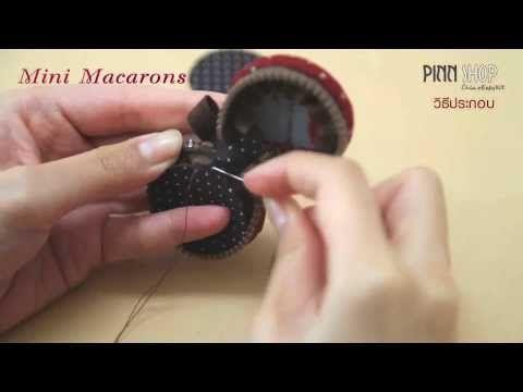 Münztäschchen aus Gläserdeckeln nähen - YouTube
