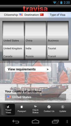 Travisa Visa is ideal for people who need visa requirement information often, such as international travel managers, and/or frequent international travelers<p>With the Travisa Visa App, you can access detailed information on travel visa requirements for o