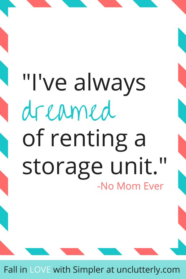 Thinking about embarking on an uncluttering adventure? Check out why your family needs less stuff...