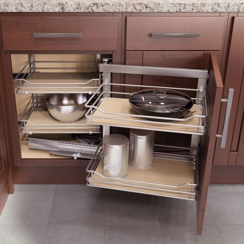 Vauth Sagel Left Hand Wari Corner Blind System 31 50 W Laundry Cabinet Option 2 Palm Avenue Pinterest Kitchen Cabinets And