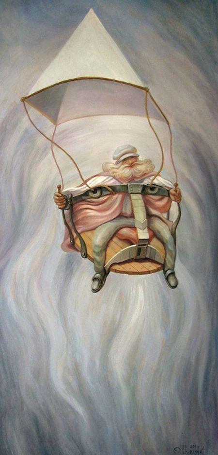 Optische illusies en gezichtsbedrog: fantasie