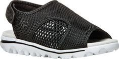 Women's Propet TravelActiv Slingback Sandal - Black Mesh with FREE Shipping & Exchanges. Perfect for pedicure days, strap into Propet's cool and comfortable