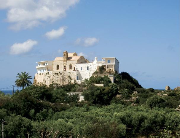 Κίσσαμος: Μονή Παναγίας Χρυσοσκαλίτισσας  Kissamos Monastery of Holy Mary Chrisoskalitissa    Crete