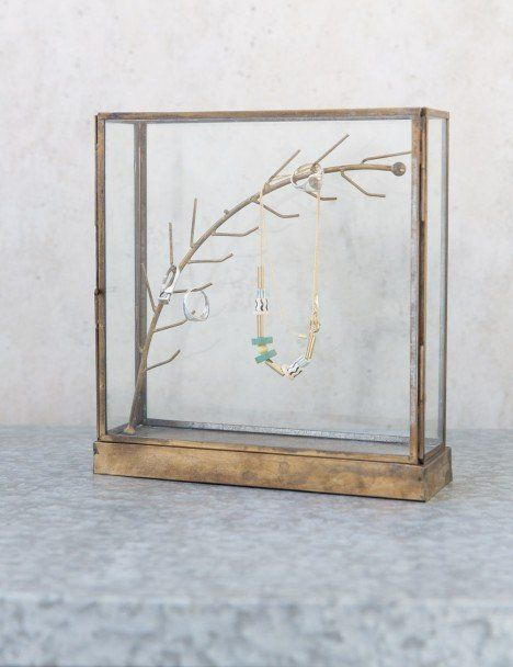Brass Jewellery Case