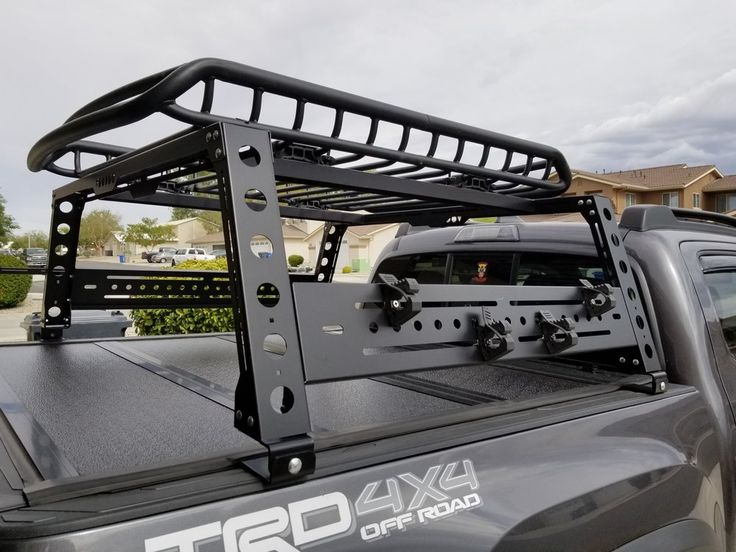 tacoma bed rack