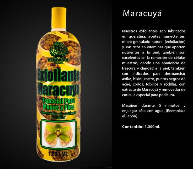 exfoliante herbacol Maracuya especial para pedicura
