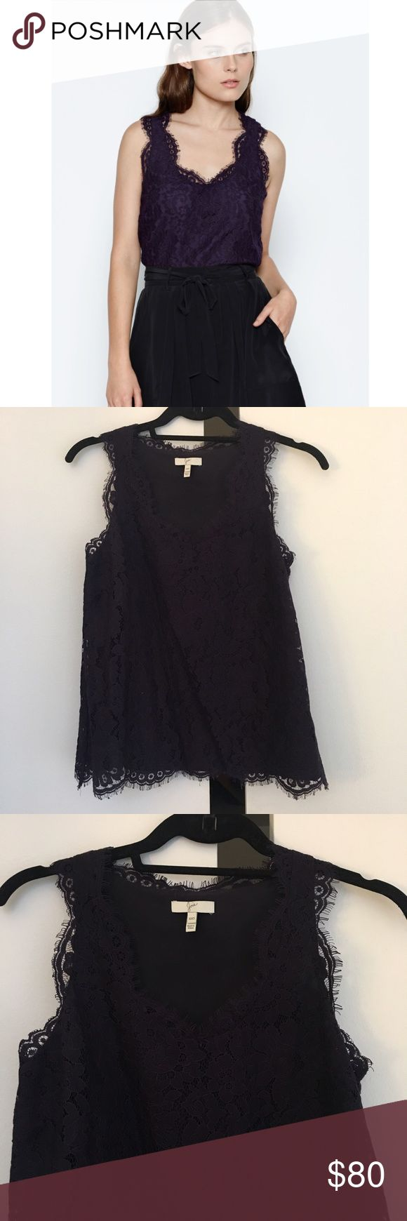Joie Cina Lace Tank NWOT! Never worn. In perfect condition Joie Tops Tank Tops