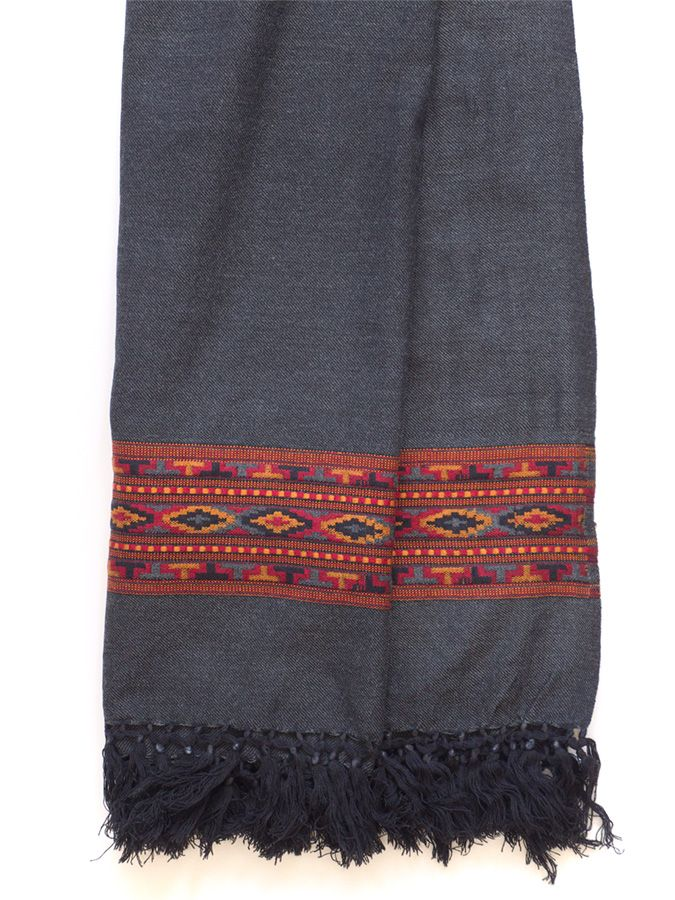 Stunning pure Merino wool shawl / blanket scarf, so cosy and soft, you'll never want to take it off. http://naggarvalley.com/product-category/hand-loom-shawls-stoles-and-scarves/