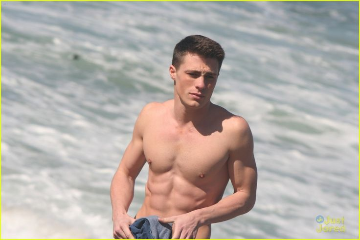 Fashion And The City: Colton Haynes Shirtless For Nine