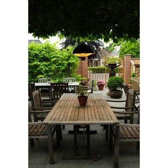 Hangende elektrische terrasverwarmer 1500W grijs | Vuurkorven & terraskachels | Barbecues & vuurkorven | Tuin | KARWEI
