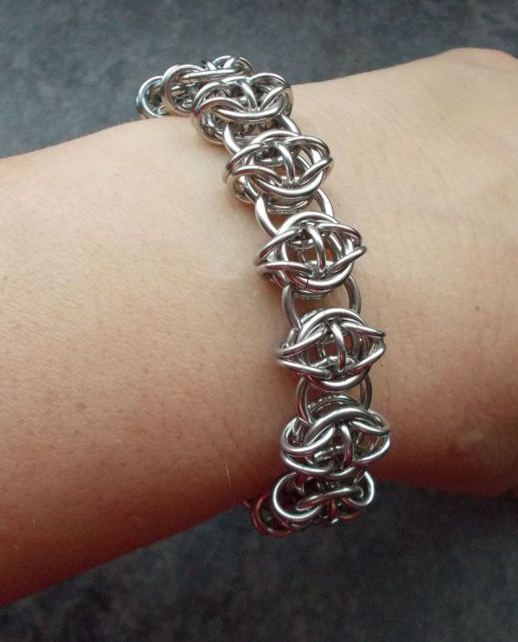 Basket Weave Chainmaille Tutorial : Best images about chain mail on persian