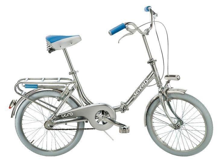 Bicycle - Cigno Seventy Azzurro Capri www.bernardisrl.net