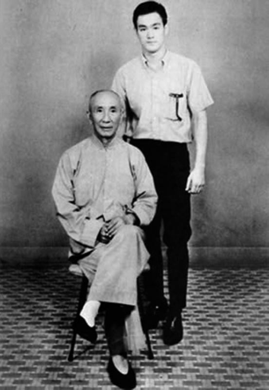 Bruce Lee & Wing Chun Kung Fu Grandmaster Yip Man