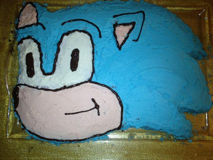 Sonic kake - Joakim 4 år