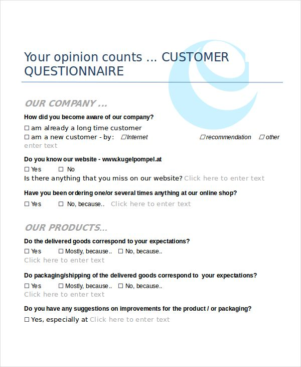 questionnaires templates word template pinterest questionnaire
