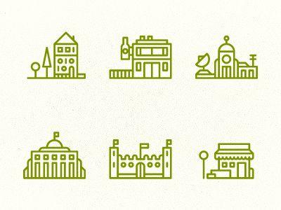 Building Icons  by Tim Boelaars