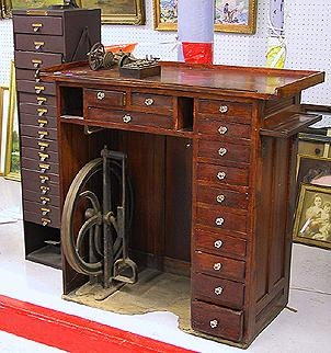 Watchmakers workbench