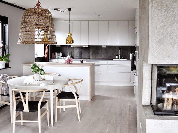 199 best home modern kitchens moderne Küchen images on - u förmige küchen
