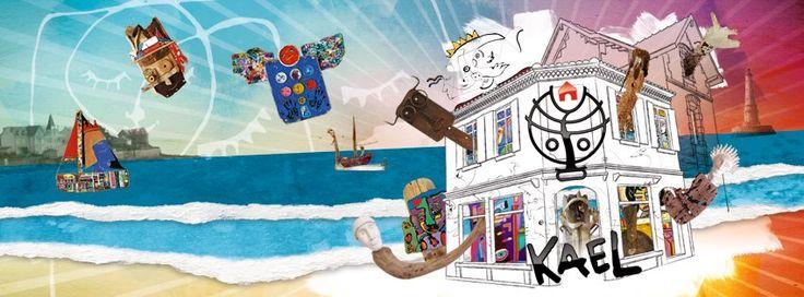 Atelier Galerie peinture sculpture en centre-ville Saint Palais sur Mer https://www.facebook.com/galeriekael