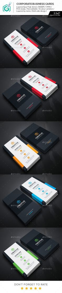 The 17 best business cards images on pinterest business cards creative business cards template design download httpgraphicriver reheart Gallery