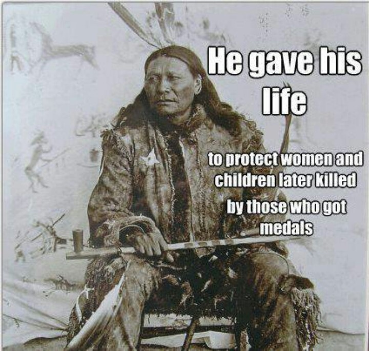 Chief Flying Horse, the older brother of the minor Sitting Bull charged into Captain Henry Jackson's men, knowing full well he would be killed