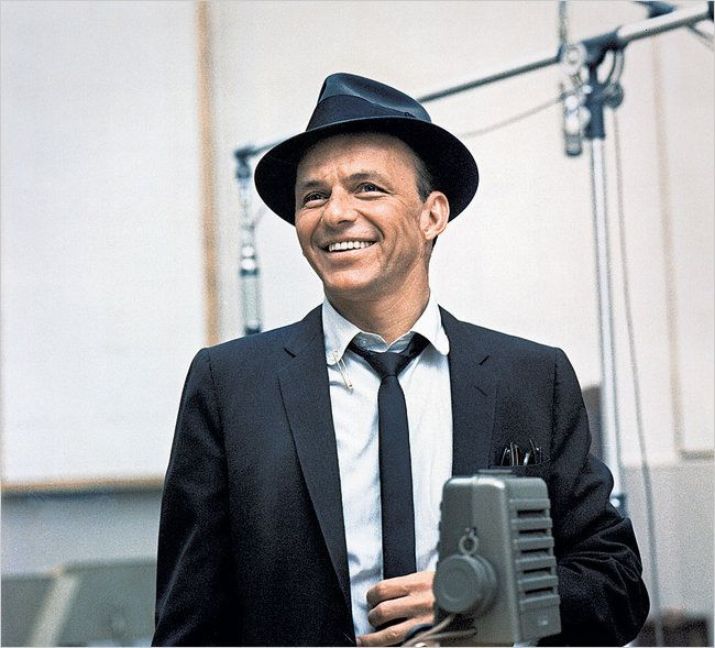 Sinatra puts me in a good mood even on the rainiest days. He sure does have a way with words.