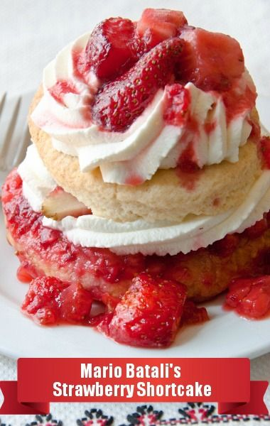 Mario Batali taught us how to make Strawberry Shortcake with an Italian flair on The Chew! http://www.recapo.com/the-chew/the-chew-recipes/the-chew-mario-batali-strawberry-shortcake-recipe-with-yogurt-biscuits/