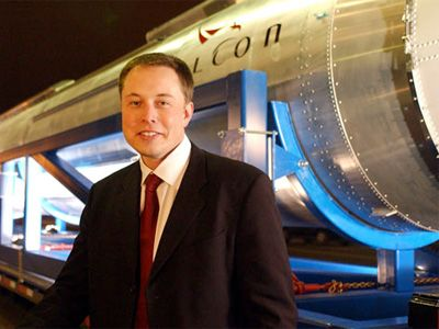 SpaceX founder, and entrepreneur extraordinaire, Elon Musk.