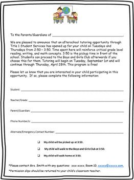 This permission slip is versatile, editable, and can be used for a variety of in school or before/after school programs! Includes 2 versions, reminder notices, and an attendance sheet!**This product is included in my Teacher Survival Kit at a discounted price here: Teacher Survival Toolkit, A Bundle of Must Have Essentials!