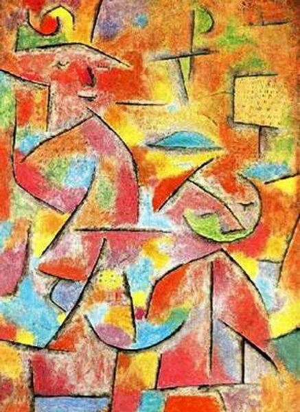 Paul Klee  Kinder und Tante