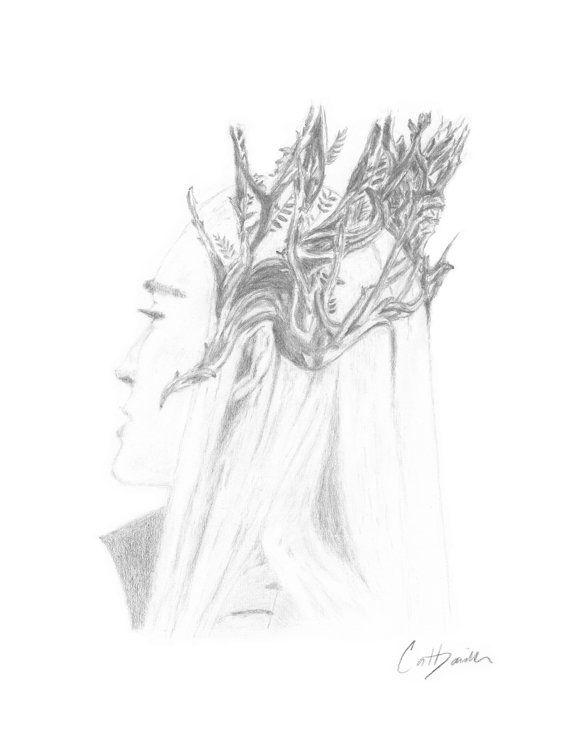 Elven King Elf King Lee Pace as Thranduil Mirkwood by CatDKnits