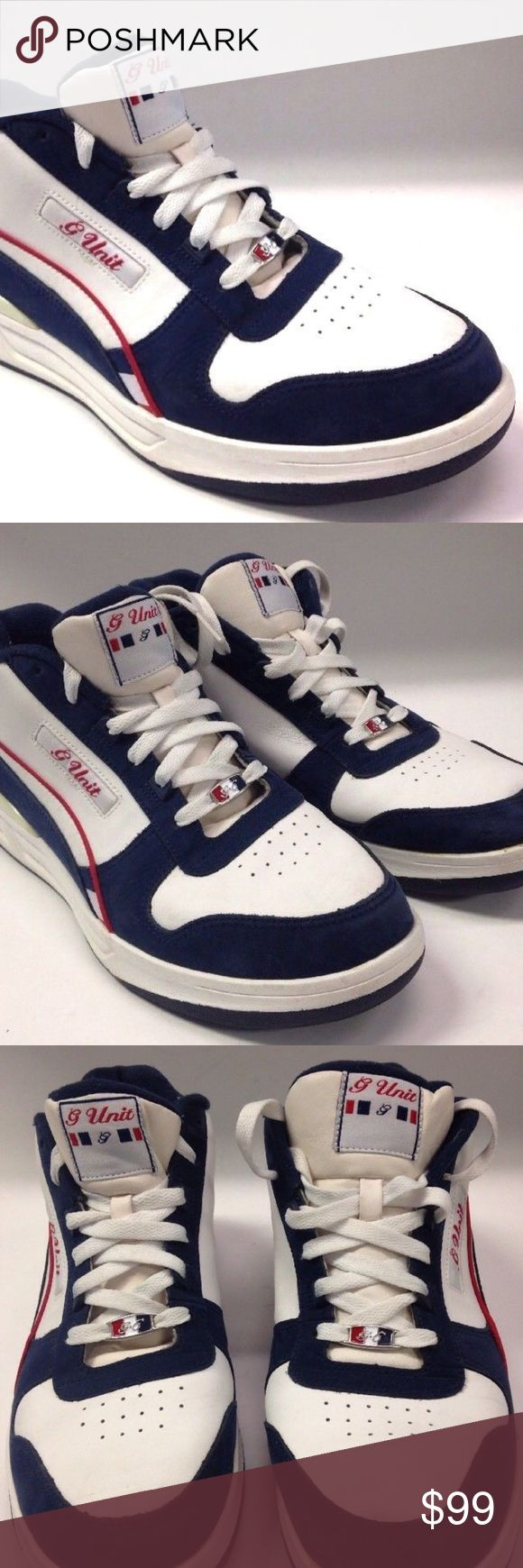 REEBOK G UNIT SNEAKERS SHOES OLD SCHOOL REEBOK G UNIT SNEAKERS  MEN SIZE 11 US  EXCELLENT USED CONDITION, LIGHT WEAR NICE & CLEAN Reebok Shoes Sneakers