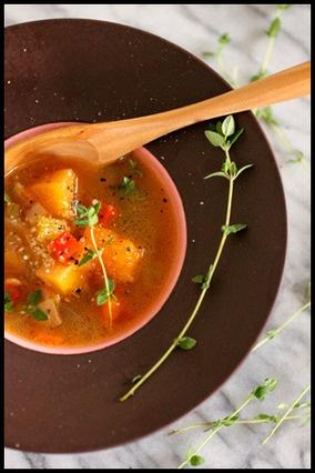 野菜たっぷりスープ|レシピブログ