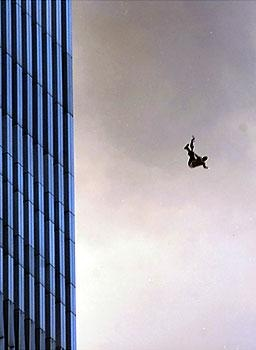 people jumped rather than die in the fire-911