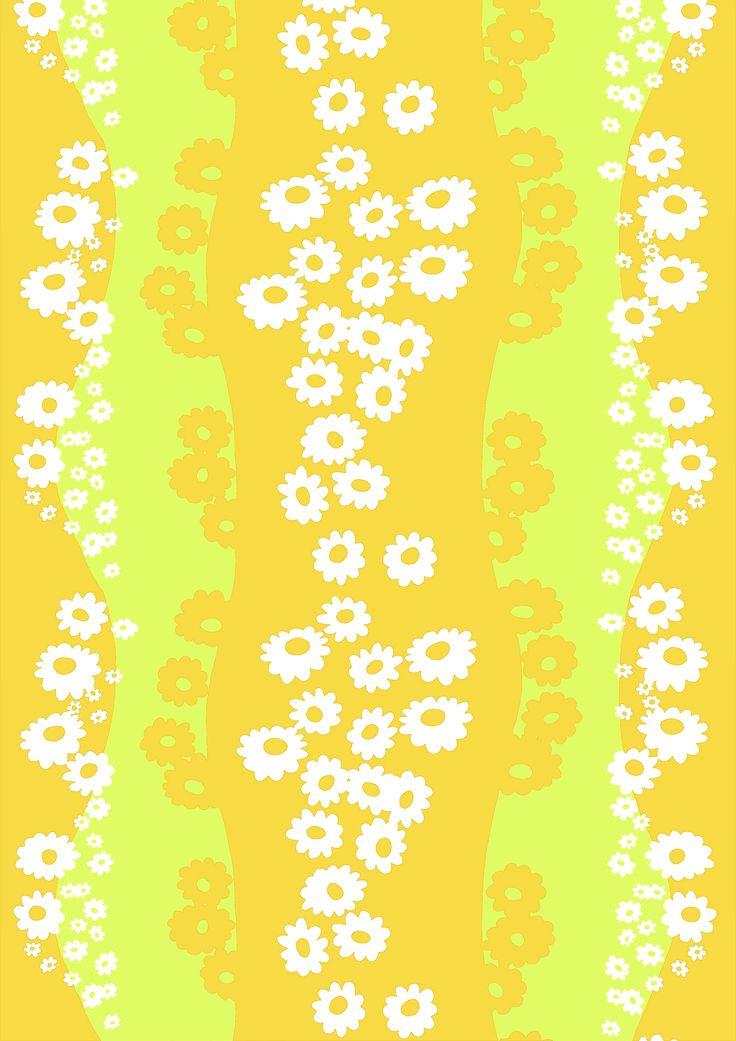 Päivänkakkara, yellow by Marjatta Metsovaara
