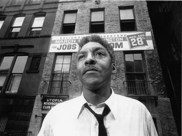 Bayard Rustin was an American leader in social movements for civil rights, socialism, nonviolence, and gay rights. Article written 2013.