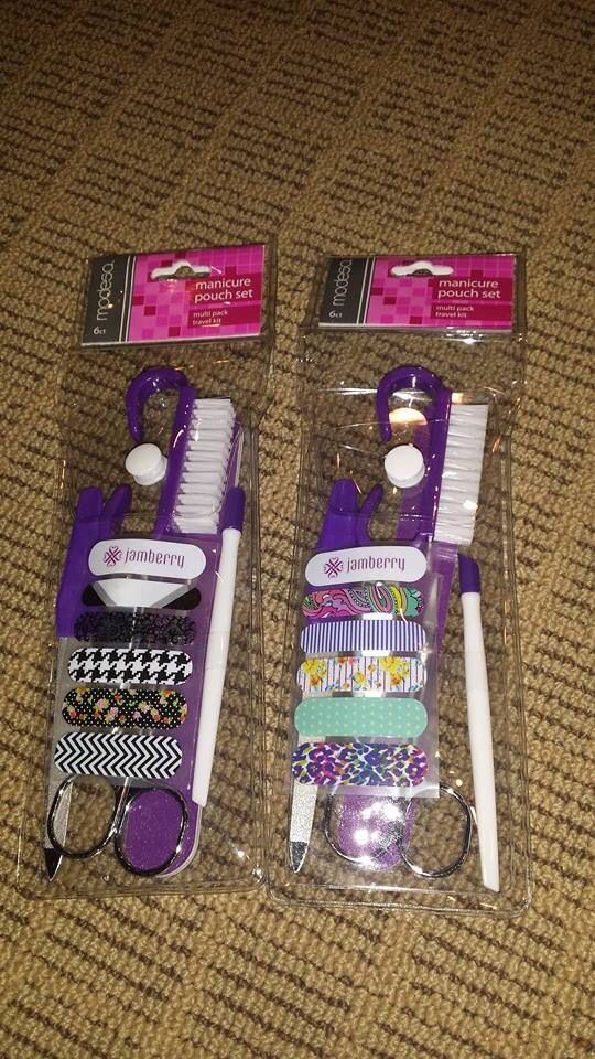 Great gift/sample idea!! Follow me on Facebook at https://www.facebook.com/RebeccaLynne.JamberryNails