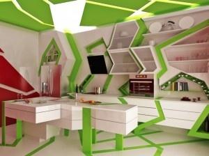 Άκρως μοντέρνοι και πρωτότυποι εσωτερικοί χώροι σχεδιασμένοι από την εταιρεία Gemelli Design Studio για τους λάτρεις του extreme! Όπως θα παρατηρήσετε και από τις φωτογραφίες,