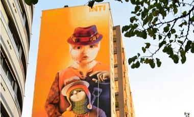 Inti, el chileno que conquista el mundo con sus grafitis   Cultura   LA TERCERA