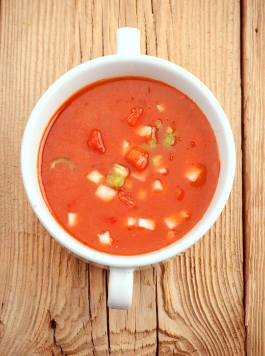 This authentic gazpacho recipe straight from Andalucía can be a great way to get in extra helpings of lycopene-rich tomatoes and finish off the last of your summer harvest.