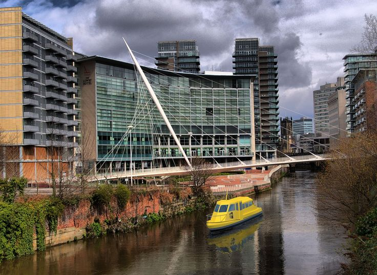 Could water taxis eventually run from Victoria to Salford Quays?
