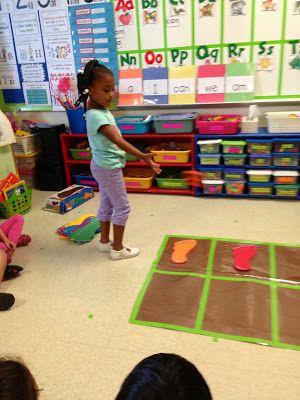 Kindergarten Math:   subitizing 1-5