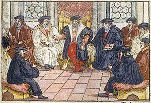 Marburg Colloquy - Wikipedia, the free encyclopedia